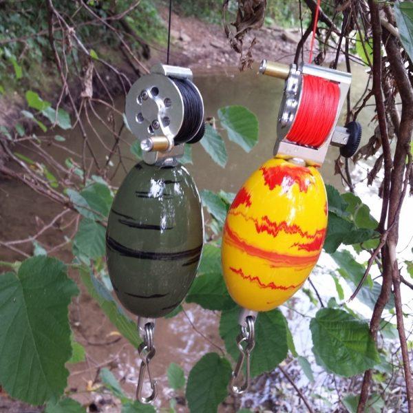 Лебёдки ФМС с поплавком и карабином