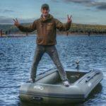 Лодка для рыбалки на сома