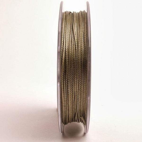 Поводковый материал спирального плетения