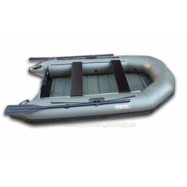 Широкая надувная лодка